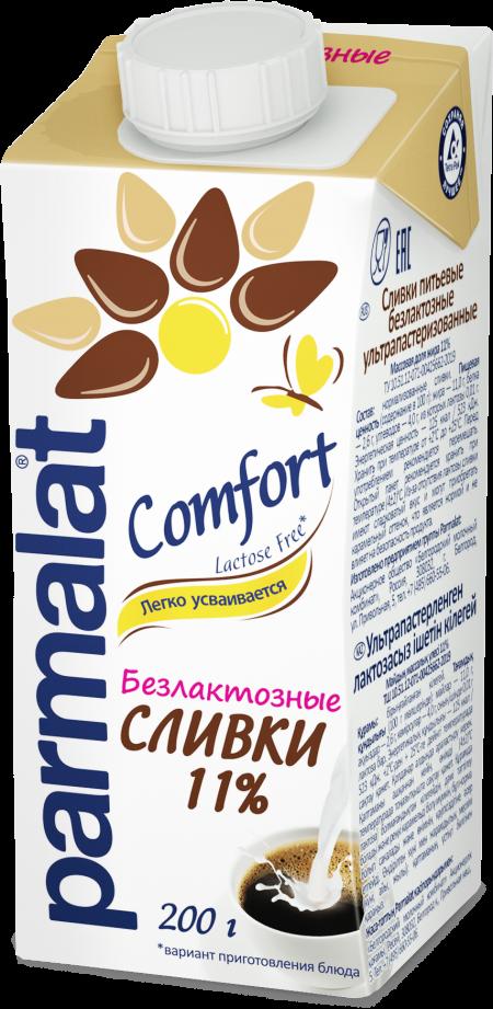 Parmalat Сливки 11%  Низколактозн 0,2 л_0