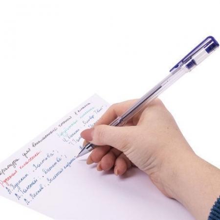 """Ручки гелевые STAFF """"Basic"""", набор 4 шт., ассорти_11"""