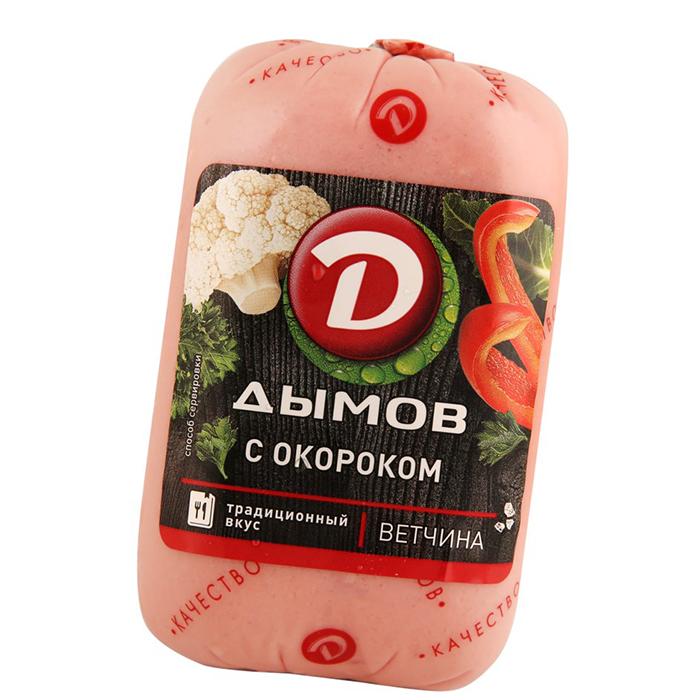 Ветчина С окороком, п/а, ст. вес 400 гр._0