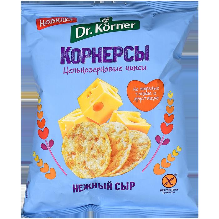 Dr.Korner Чипсы Кукурузно-Рисовые Сыр 50г (28)_0