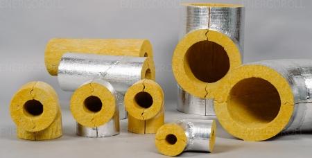 Цилиндр минераловатный Энергоролл 80 AL40х57_2