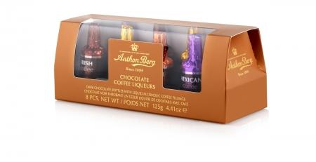 Anthon Berg Ассотри шоколадных конфет со вкусами кофейных ликеров 125г_0
