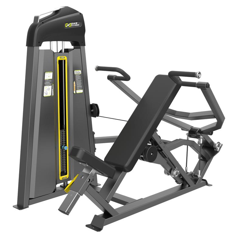 Тренажер DHZ Жим от плеч Е-3006 стек 109 кг