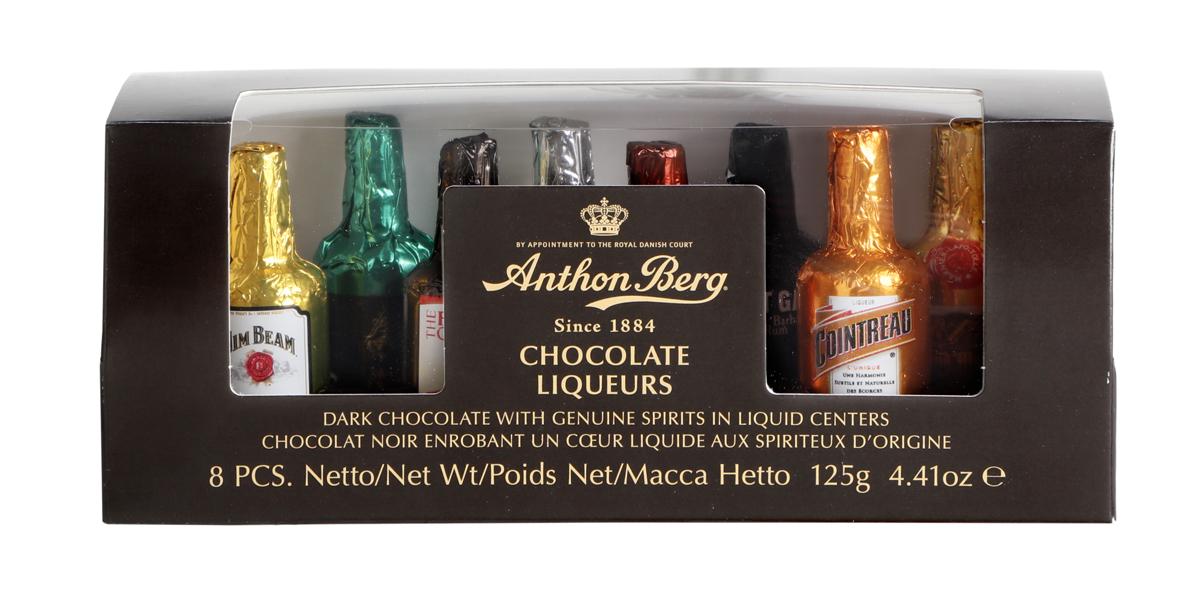 Anthon Berg Ассорти шоколадных конфет с начинками из премиального алкоголя 125г