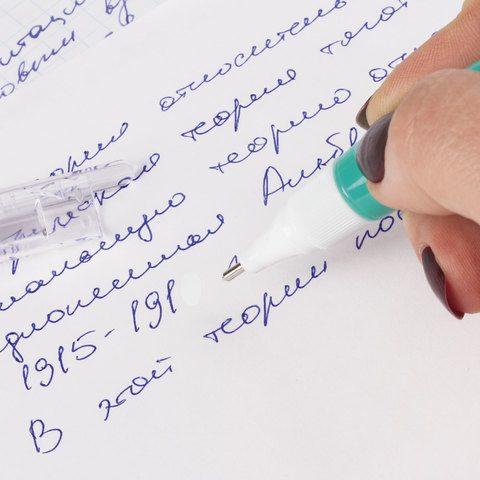 """Ручка-корректор STAFF """"College"""", 6 мл, металлический наконечник"""