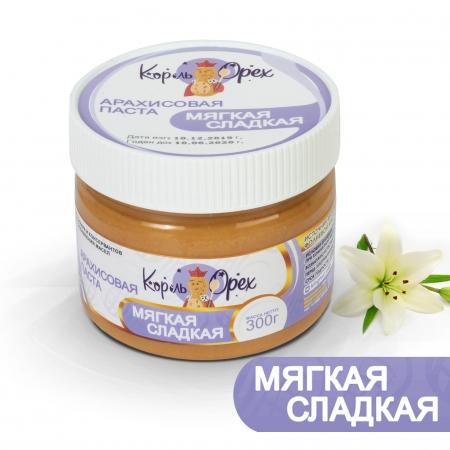 Арахисовая паста «Мягкая» сладкая 30 гр