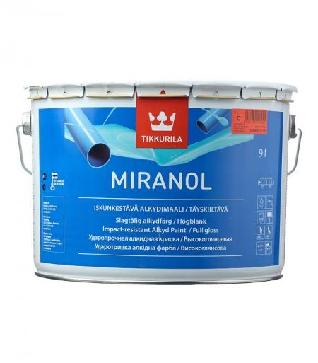 Эмаль алкидная Tikkurila Miranol основа С глянцевая 9_0