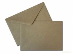 Конверт Е4, крафт, треугольный кЛапан (290х390)