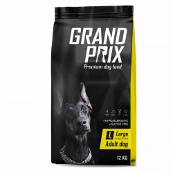 Сухой корм для взрослых собак крупных пород Grand Prix LargeAdult с курицей, 12 кг