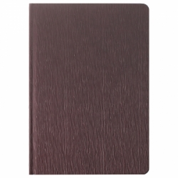 """Ежедневник А5 недатированный 150л """"Darvish"""" обложка к/з  рифленая (коричневая,серая, оранжевая)"""