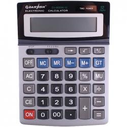 """Калькулятор настольный 12 pазр. """"Darvish"""" двойное питание 195*143*37мм"""