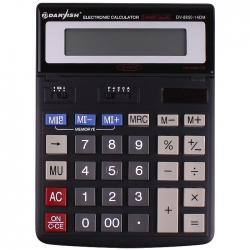 """Калькулятор настольный 14 pазр. """"Darvish"""" двойное питание 200*150*27мм двойная память"""