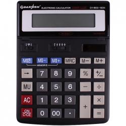 """Калькулятор настольный 16 pазр. """"Darvish"""" двойное питание 200*150*27мм двойная память"""