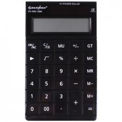 """Калькулятор настольный 12 pазр. """"Darvish"""" двойное питание 163*95,5*17,5мм"""
