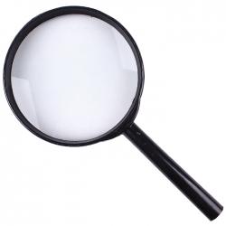 """Лупа 100мм """"Darvish"""" ручная оптическое увеличение-2х"""