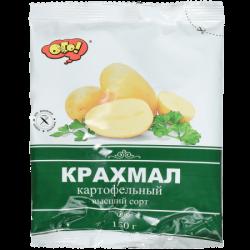 ОГО! 025 Крахмал картофельный в/с ГОСТ Т10х150 гр.