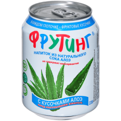 Fruiting Нап из сока алоэ с кус алоэ 238мл (24)ж/б