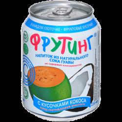 Fruiting Нап из сока гуавы с кус кокоса 238мл (24)ж/б