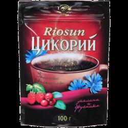 Риосан (904) напиток Цикорий МАЛИНА /БРУСНИКА 100г (12) м/у