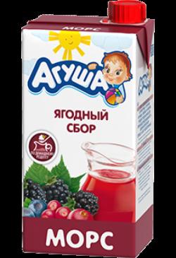 Агуша Морс Ягодный Сбор 500мл
