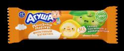 Агуша Батончик Фрукт Яблоко Банан 0.5% 15г