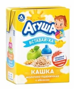 Агуша Каша 2,5% Пшен Яблоко 200мл