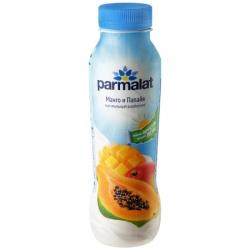 Parmalat Биойогурт питьевой Манго Папайя 290г пэт