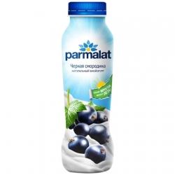 Parmalat Биойогурт питьевой черная смородина 290г пэт