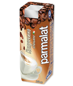 Parmalat Коктейль мол с кофе Капуччино 1,5% ульт 0,25 л