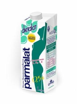 Parmalat МОЛОКО ультрапас Диеталат 0,5%Витамин 1л