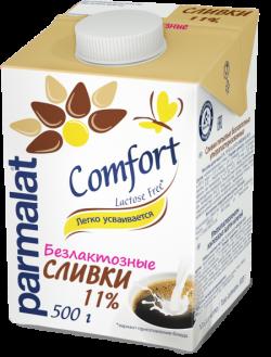 Parmalat Сливки 11% Низколактозн  0,5 л