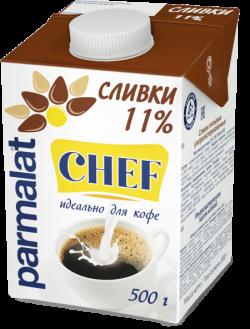 Parmalat Сливки 11% ультрапастеризованные  0,5 л