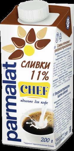 Parmalat Сливки 11% ультрапастеризованные 0,2 л