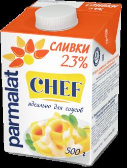 Parmalat Сливки 23% ультрапастеризованные  0,5 л