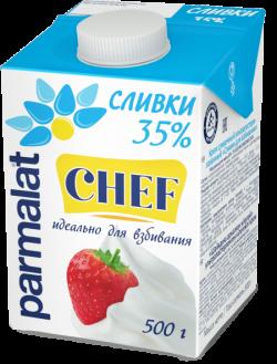 Parmalat Сливки 35% ультрапастеризованные  0,5 л
