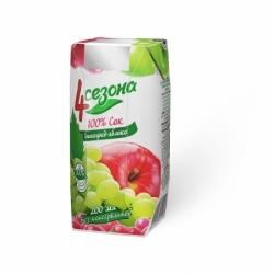 4Сезона  Виноградно-Яблочный 200мл