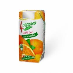 4Сезона  Сок Апельсиновый 200мл