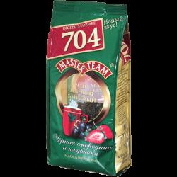 МТ стд 704 зел.ар.чай Черн.смор. и клубник 250г кр.л.(12)м/у