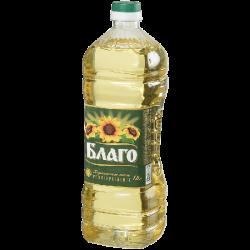 БЛАГО Масло подсолнечное раф.дез премиум 1,8л (6) пластик