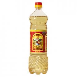 КАРОЛИНА Масло подсолнечное раф.дез. 0,9л (15) пластик