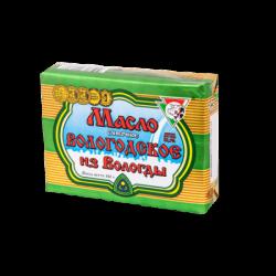 ВОЛОГДА Масло сливочное Вологодское 82,5%жирн 180г(40)фольга
