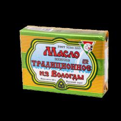 ВОЛОГДА Масло сливочное Традиционное 82,5%жирн 180г(40)фоль