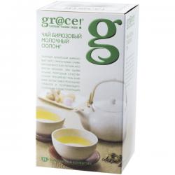 чай Грэйс бирюзовый Молочный оолонг 25*1.5г (12) фольг.конв.