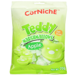 К Тедди Яблоко Apple Teddy Marshmallows / № 8483 Т24х70г