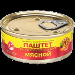 ЙОМ Консервы Паштет мясной №1 100г (24) с Ключом