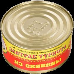 ЙОМ Консервы Завтрак туриста из свинины №8 325г (36)