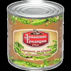ДТ Горошек зеленый ГОСТ в/с 300г (15) ж/б