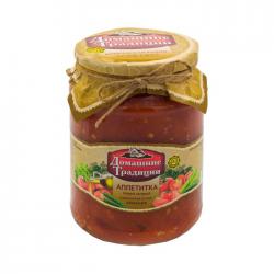 ДТ Аппетитка перец острый в том. соусе 750г (6) ст/б