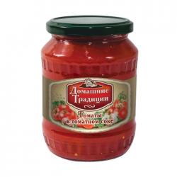 ДТ Томаты неочищенные в томатной заливке ГОСТ 720г (8) ст/б