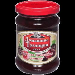 ДТ Варенье домашнее вишневое ГОСТ 320г (12) ст/б